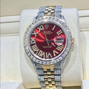 Ruby Two Tone Rolex DateJust
